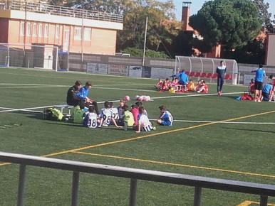Sporting Gavá D 2-6 Alevín D