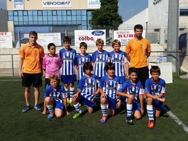 Peña barcelonista 4 - 2 Alevin E