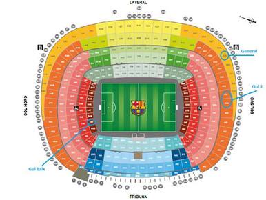 Promoció escoles de futbol - Partits al Camp Nou