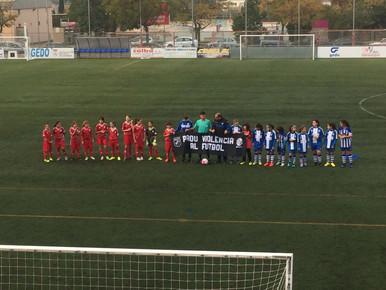 Alevín/Benjamín fem 3-2 Levante las Planas