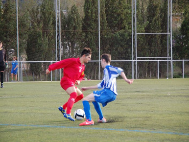 AnoiaFC 0 - 3 Juvenil A