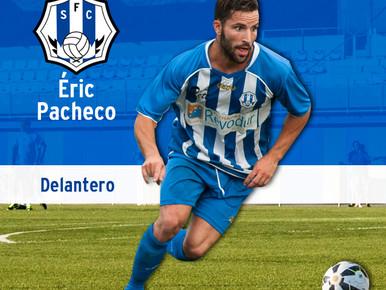 Éric Pacheco, un any més de blanc-i-blau. Óliver, Èdgar, Imanol i Adri Ruiz no continuaran