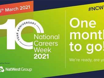 National Careers Week, 1st-6th March 2021