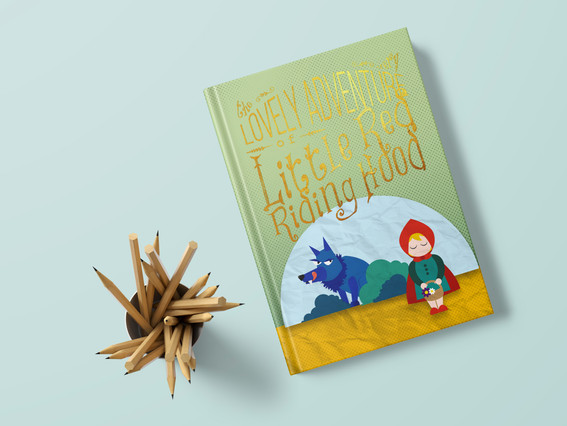 The lovely adventure of Little Red Riding Hood