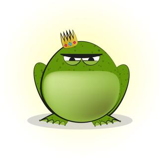 His grumpy Majesty
