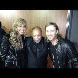 David Guetta and wife