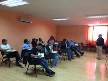 Grinding course, 100 operators. Codelco Chuquicamata Div.