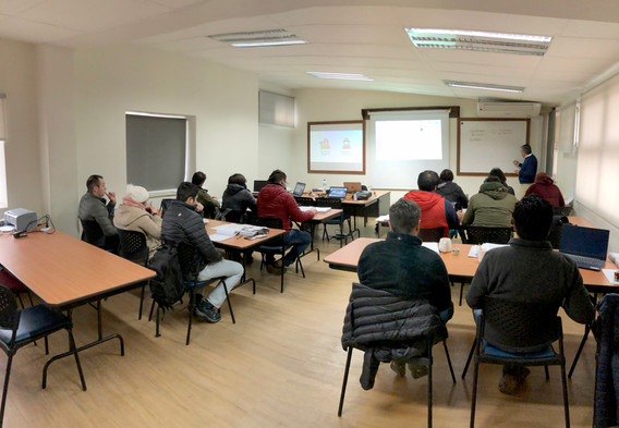 Closed Course 3 - Group 2: SAG and balls grinding operation and classification of particles by size (hydrocyclones).