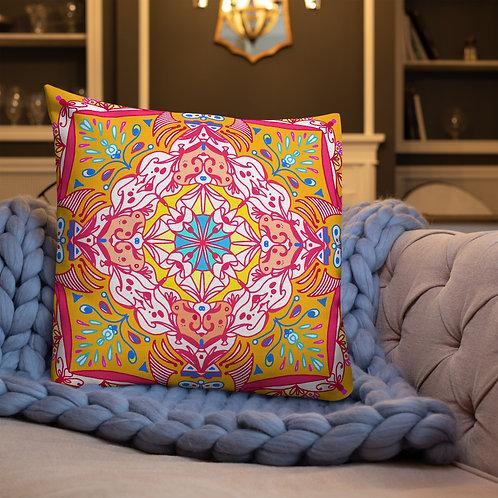 Colorful Boho Premium Pillow