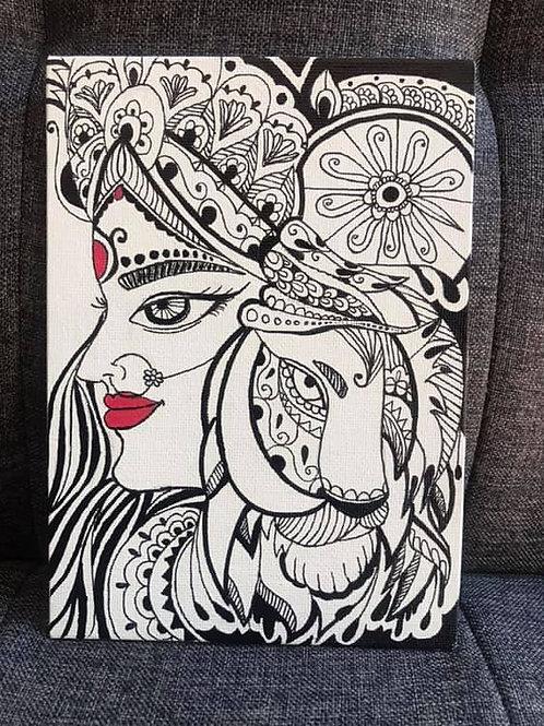 Shakti Doodle