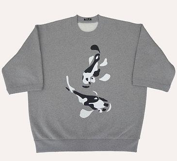 T-sweater Koi Carp, devant