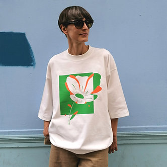 T-shirt oversize Sunset Bloom, TALE