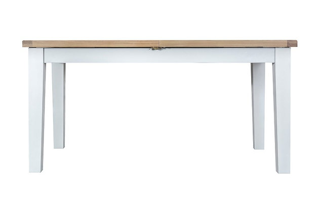 Country 1.6m Butterfly Extending Table (Wimborne White)