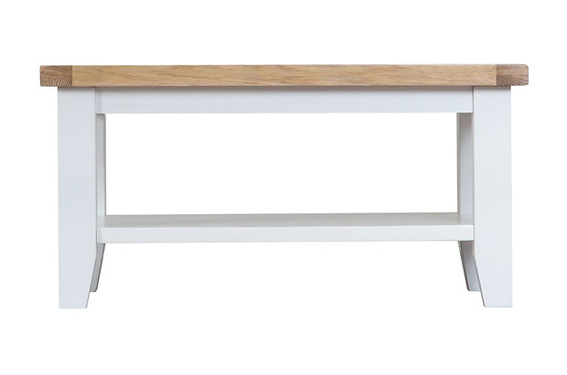 Country Small Coffee Table (Wimborne White)