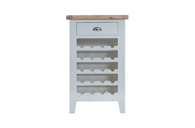 Country Wine Cabinet (Ferndown Grey)
