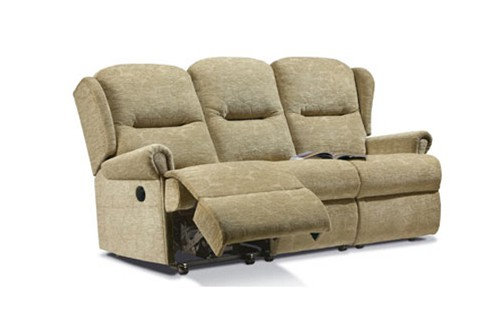 Monty Small 3 Seater Recliner Sofa