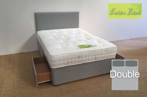 Eden Beds Pocket 1000 Double 2 Drawer Divan