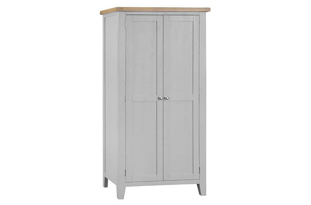 Country 2 Door Wardrobe (Ferndown Grey)