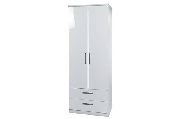 Reflections 2ft6in Double Combination Wardrobe