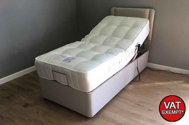 Peridot 1200 Pocket 90cm Single Adjustable Divan Bed  – Soft Feel