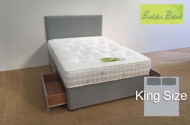 Eden Beds Pocket 1000 King Size 2 Drawer Divan