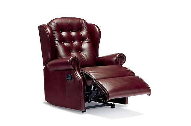 Lambeth Leather Small Recliner Chair