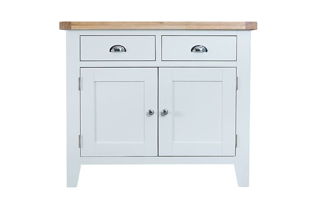 Country 2 Door 2 Drawer Sideboard (Wimborne White)