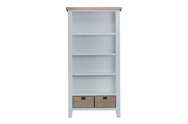 Country Large Bookcase (Ferndown Grey)