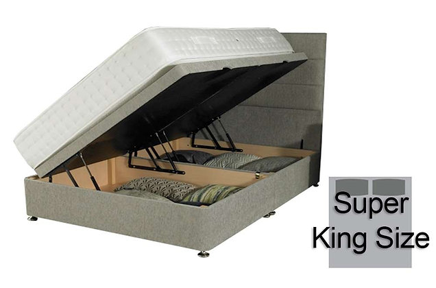 180cm Super King Size Side Opening Ottoman Divan Base