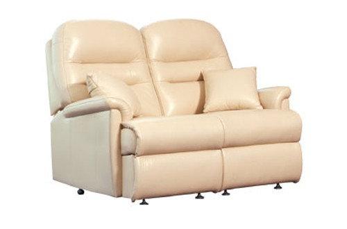 Seaton Leather Standard 2 Seater Sofa