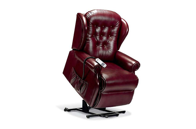 Lambeth Leather Standard Lift & Rise Care Recliner Chair