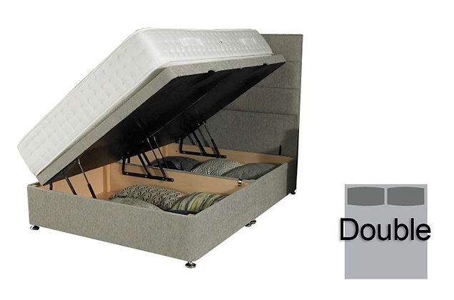 135cm Double Side Opening Ottoman Divan Base