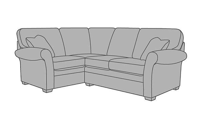 Victoria Small Left Hand Facing Corner Sofa