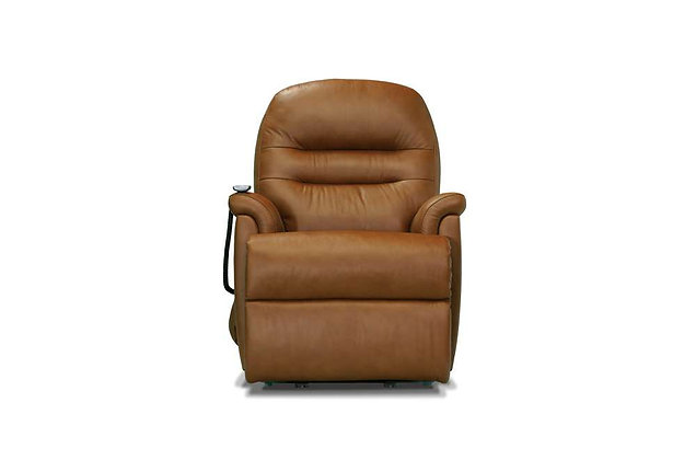 Seaton Leather Small Lift & Rise Care Recliner Chair
