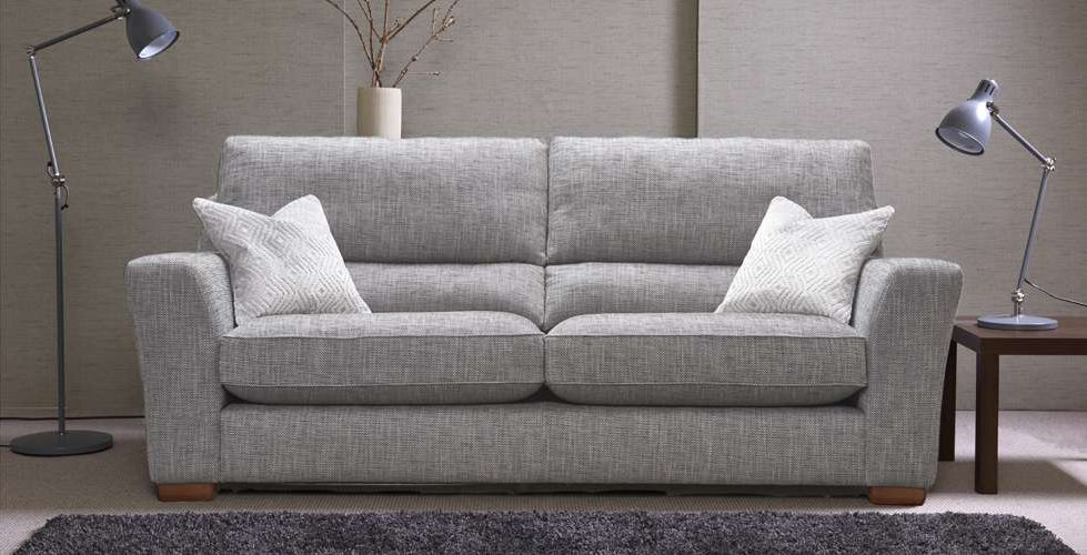 Saunton 4 Seater Fabric Upholstered Sofa