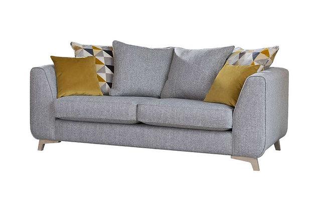 Hampton 3 Seater Pillow Back Sofa