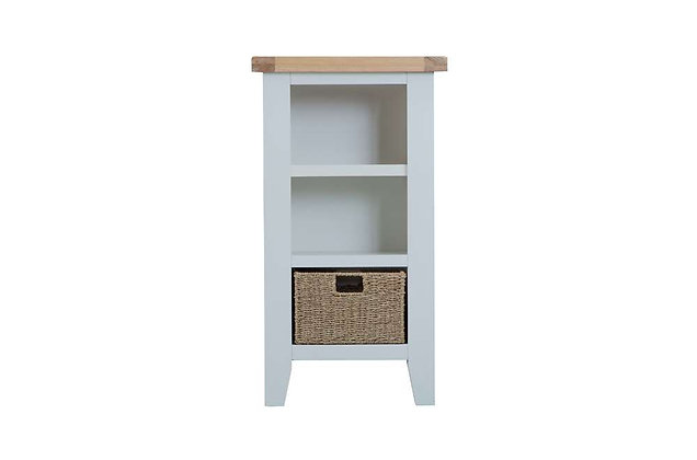 Country Small Narrow Bookcase (Ferndown Grey)
