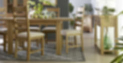 Naples Living & Dining Furniture - Table, chairs, sideboard, small sidaboard and large bookcase