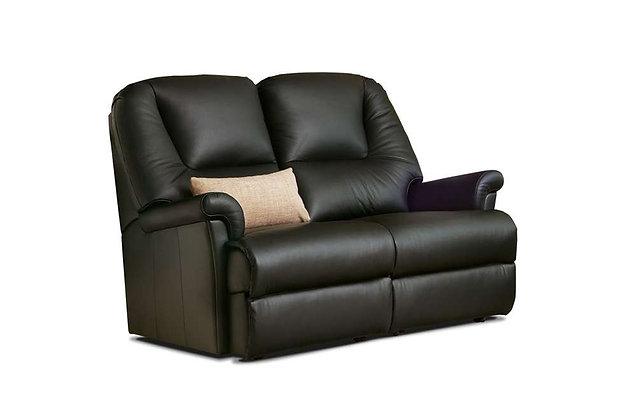 Weymouth Leather Petite 2 Seater Sofa