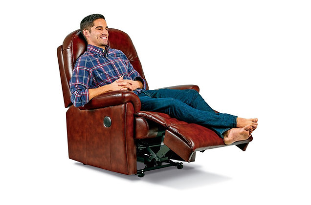 Seaton Leather Standard Recliner Chair