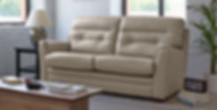 Croyde Leather 3 Seater Sofa
