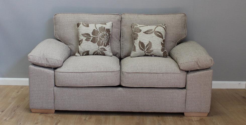 Oscar 2 Seater 120cm Fabric Sofa Bed