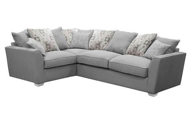 Reimes Left Hand Facing Pillow Back Corner Sofa Bed Group