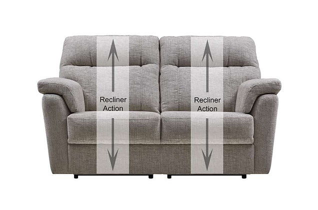 Burlington 2 Seater Recliner Sofa