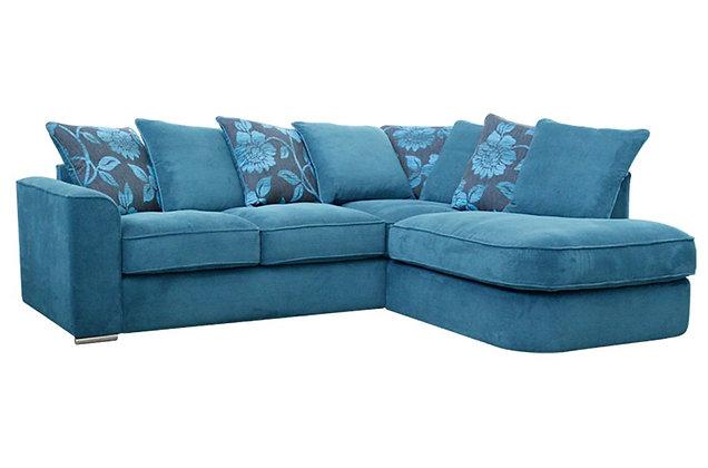 Boardwalk Right Hand Facing Pillow Back Chaise Corner Sofa