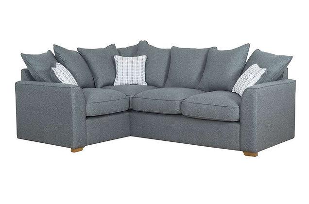 Tallin Left Hand Facing Pillow Back Corner Sofa