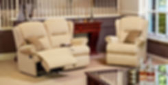Monty 2 Seater Recliner Sofa and Armchair | Richard Eade Furniture Store | Surrey