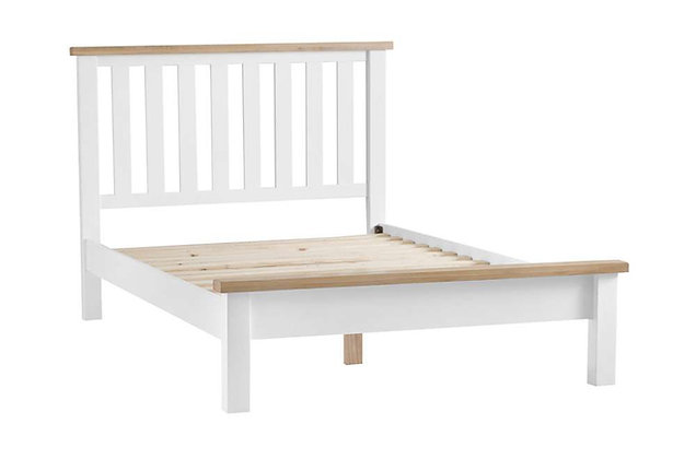 Country 135cm Double Bedstead (Wimborne White)