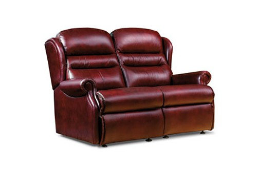 Vienna Leather Standard 2 Seater Sofa