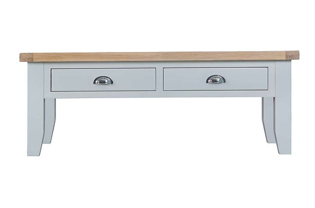 Country Large Coffee Table (Ferndown Grey)